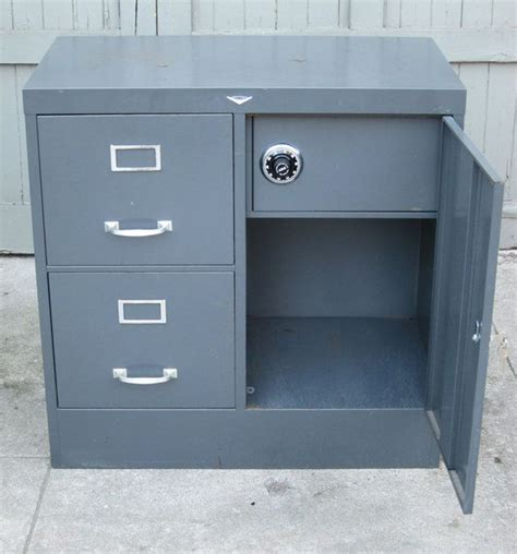 safe filing cabinet canada 1950 s cole steel file cabinet with safe posts steel