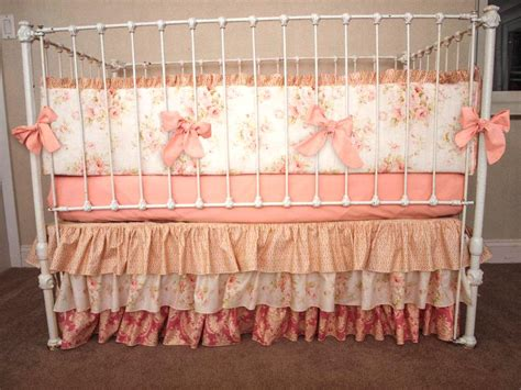 vintage shabby chic baby bedding vintage shabby chic bedding how to choose shabby chic crib bedding home design