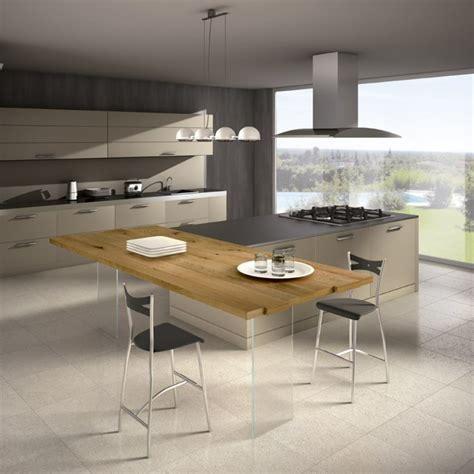 plan cuisine moderne ophrey com cuisine moderne avec plan de travail en bois