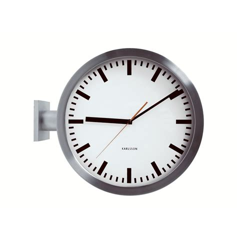 sided wall clock double sided wall clock 38cm