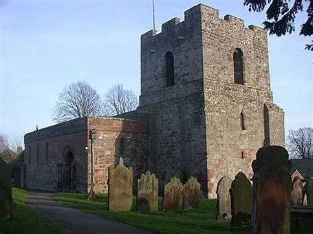 Image result for photos of burgh by sands parish church