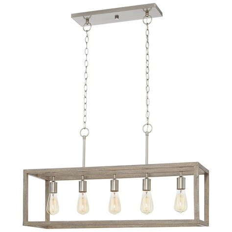 home decorators collection boswell quarter  light brushed