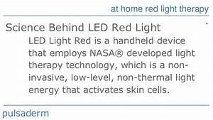 Pulsaderm Red Light Hand Held Red Light Therapy Pulsaderm