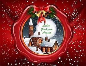 Schöne Weihnachten Grüße : 3 advent bilder 1 weihnachtsbilder lizenzfrei kostenlos ~ Haus.voiturepedia.club Haus und Dekorationen