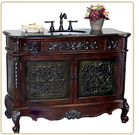 antique bathroom vanity set bring world charm and convenience together with
