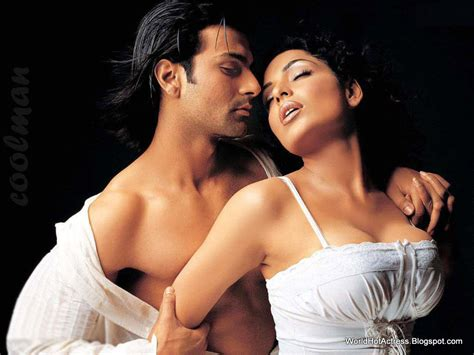 love and hot image meera with ashmit patel hot boobs with transparent white