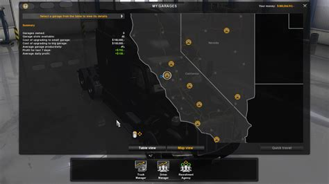 Ats Garage Locations by 100 Save Free Ats American Truck Simulator