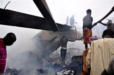 Airplane Standing Still In Air by Nigeria Plane Crash Kills All 153 Passengers On Board Dana