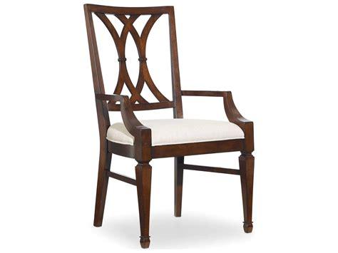 Hooker Furniture Palisade Splat Back Dark Wood Dining Arm