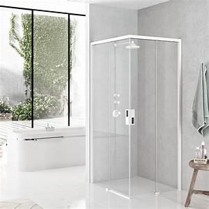 Shower enclosures opera a novellini for Porte douche coulissante 120 novellini