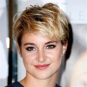 Coiffure Blonde Courte : coiffure shailene woodley sa coupe de cheveux fait des ravages elle ~ Melissatoandfro.com Idées de Décoration
