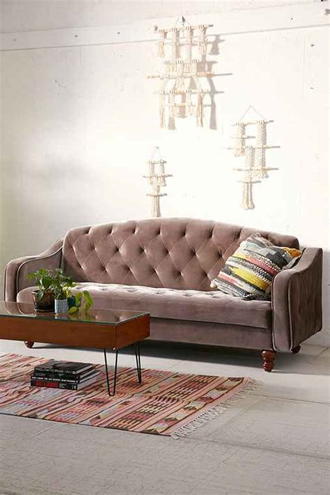 ava tufted sleeper sofa velvet tufted sleeper sofa outfitters