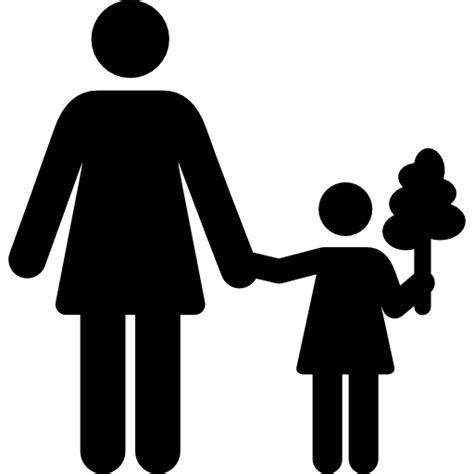 single parent family clipart black and white family motherhood