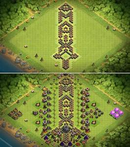 Base  Maxed Out My Th9   Clashofclans