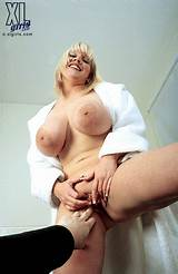 Big breasts being touched