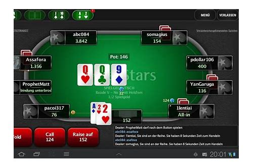 download pokerstars pentru android