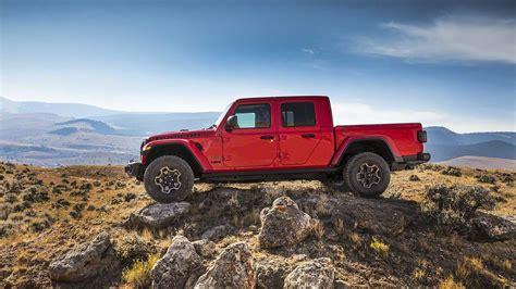 jeep gladiator  der wrangler als pick