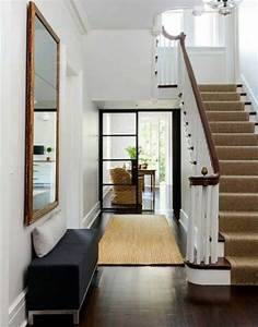 Teppich Für Eingangsbereich : andere einfach flur treppe in fertighaus wohnidee diele haus andere gl nzend flur treppe mit ~ Sanjose-hotels-ca.com Haus und Dekorationen