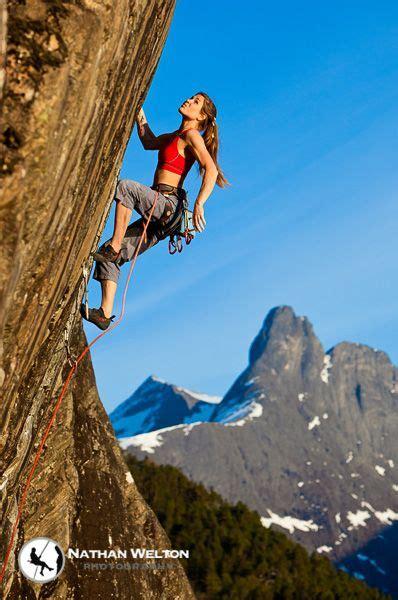 Rock Climber Yoga Teacher Rannveig Aamodt