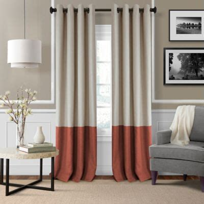 rust drapes buy window curtains drapes from bed bath beyond