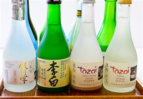 All About Japanese Sake • Steamy Kitchen Recipes