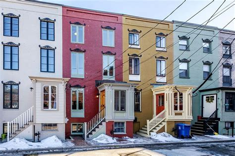 On The Market A Red Rowhouse In Portland