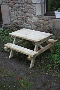 Table Pique Nique Enfant : la petite table de pique nique le blog de marjoliemaman ~ Dailycaller-alerts.com Idées de Décoration