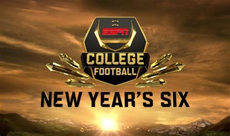 Why The New Year's Six College Football Bowl Games On Espn Saw Overall Ratings Fall Tvweek