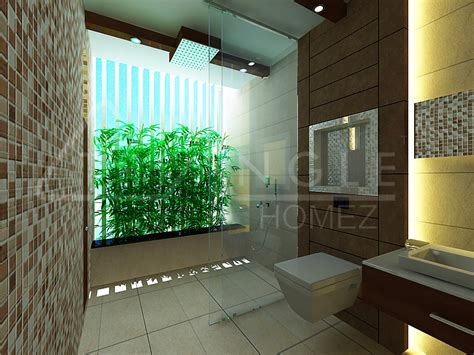 bathroom  open wall natural light architects