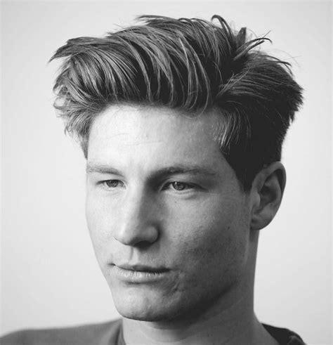 men medium length hairstyle bentalasaloncom