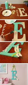 45 awesome diy ideas for making your own decorative for Making wooden letters