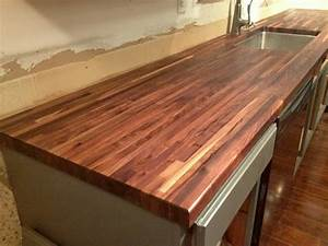 How I Protect and Clean My Butcher Block Counters - The