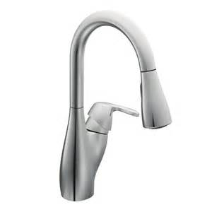 moen one handle kitchen faucet repair faucet com 7599c in chrome by moen