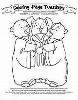 Choir Coloring Children God Got sketch template