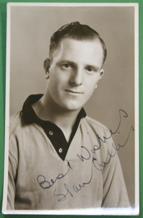 stan cullis signed photograph national football collection
