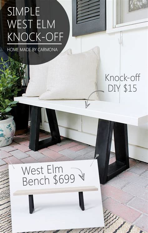 25 best ideas about industrial bench on diy