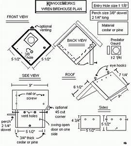 jenny wren bird house plans woodproject