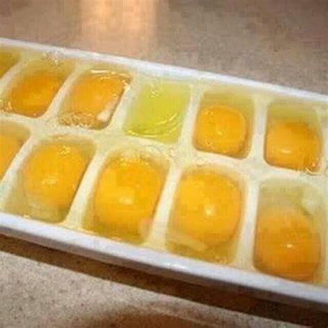 frozen eggs freezing eggs recipes pinterest