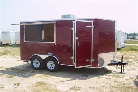 fully enclosed shower units freedom trailers builds more bbq trailers concession