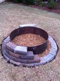 building a fire pit Building a fire pit | DIY | Pinterest