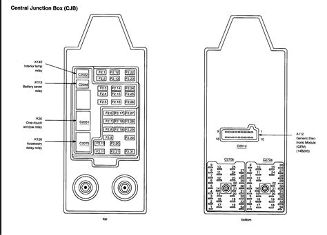 Ford Fuse Box Diagram Needed