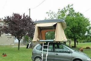 Tente De Toit Voiture : la hussarde une tente sur le toit de ma voiture la femme qui marche ~ Medecine-chirurgie-esthetiques.com Avis de Voitures