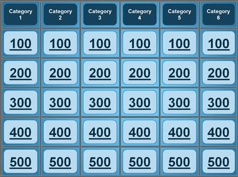 jeopardy powerpoint template great group games