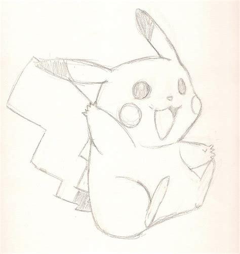 Pikachu Line Art