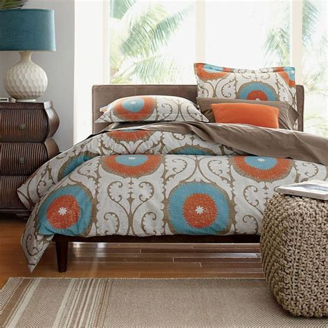 Turquoise And Orange Bedroom by Turquoise And Orange Decor Becoration