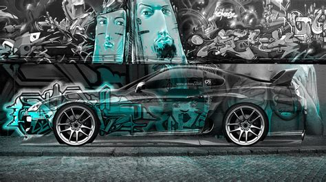 A collection of the top 28 cool graffiti phone wallpapers and backgrounds available for download for free. Toyota Supra JDM Graffiti Side Crystal Car 2014 | el Tony