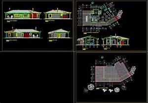 Country Restaurant  Hotel 2d Dwg Plan For Autocad  U2022 Designscad