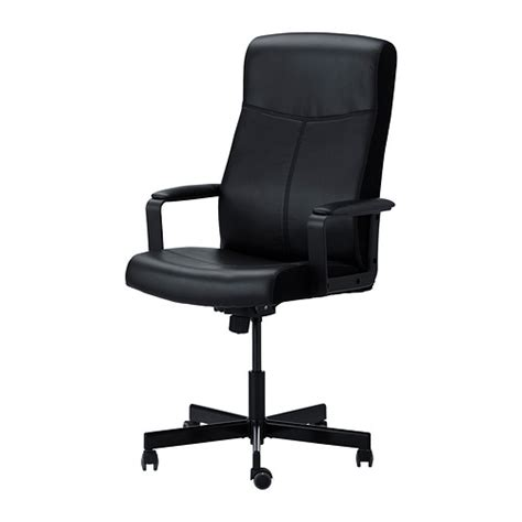 malkolm swivel chair bomstad black ikea