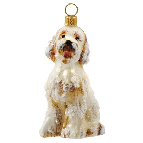 goldendoodle snowy dog ornament new for 2016