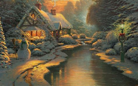 christmas cottage wallpapers christmas cottage stock